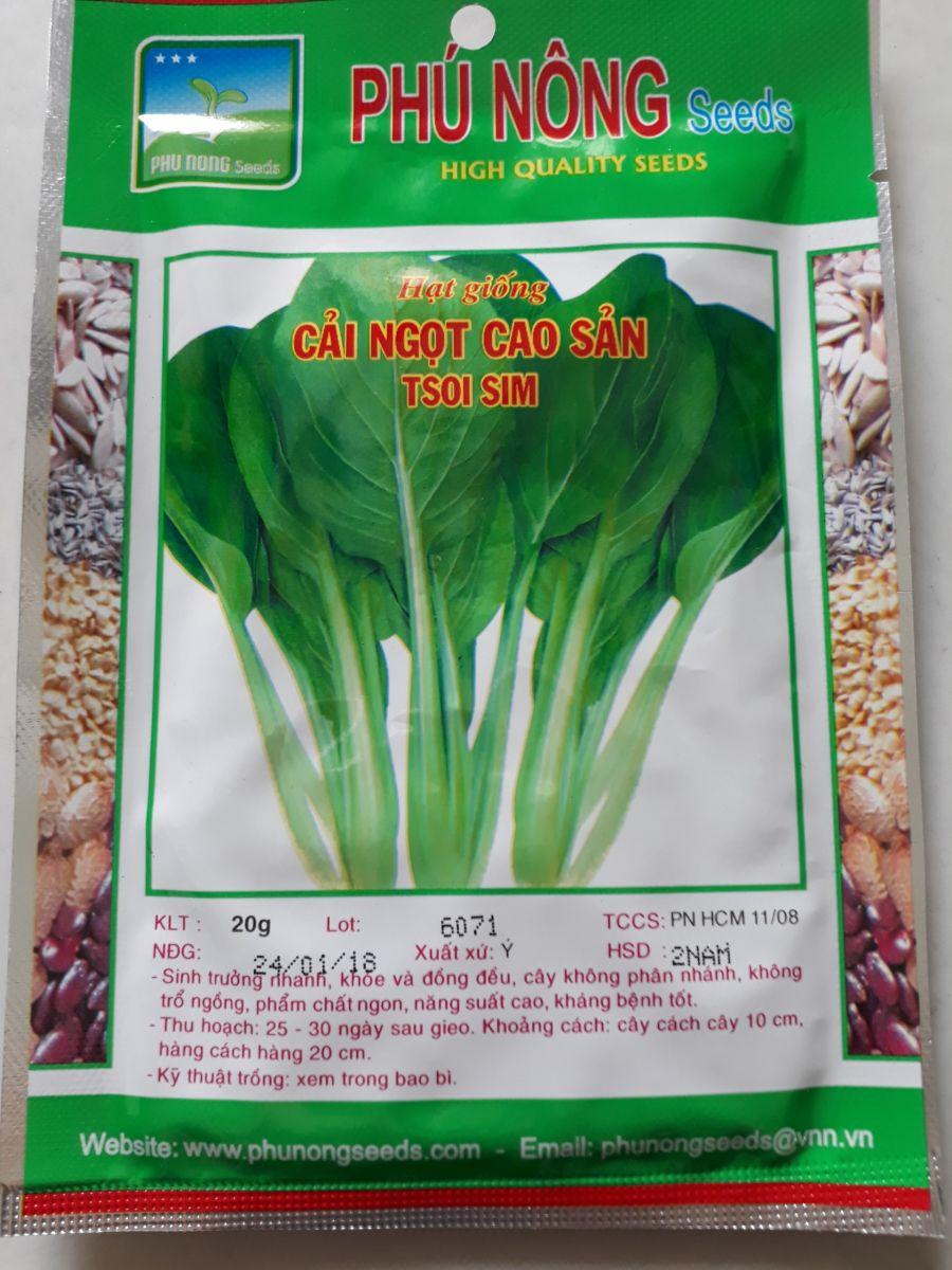 hạt giống rau sạch giá rẻ tại tphcm