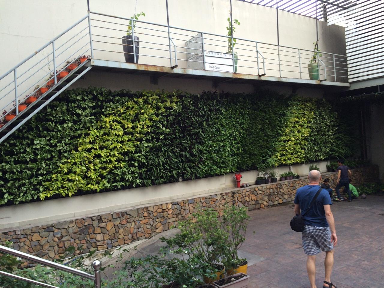 quang anh địa chỉ thiết kế tường cây