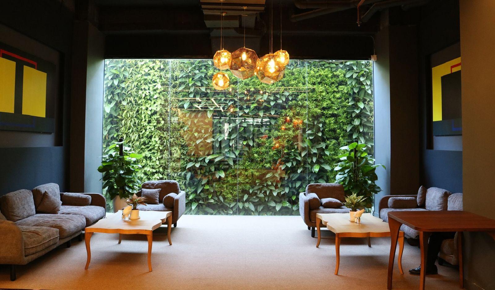 Quang Anh HCm chuyên thiết kế thi công vườn tường đứng tại nhà giá rẻ