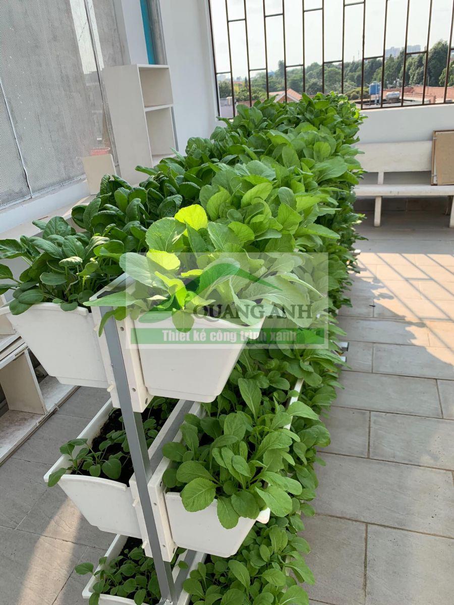 Giàn trồng rau di động QA-04A18.giá rẻ, chất lượng đảm bảo