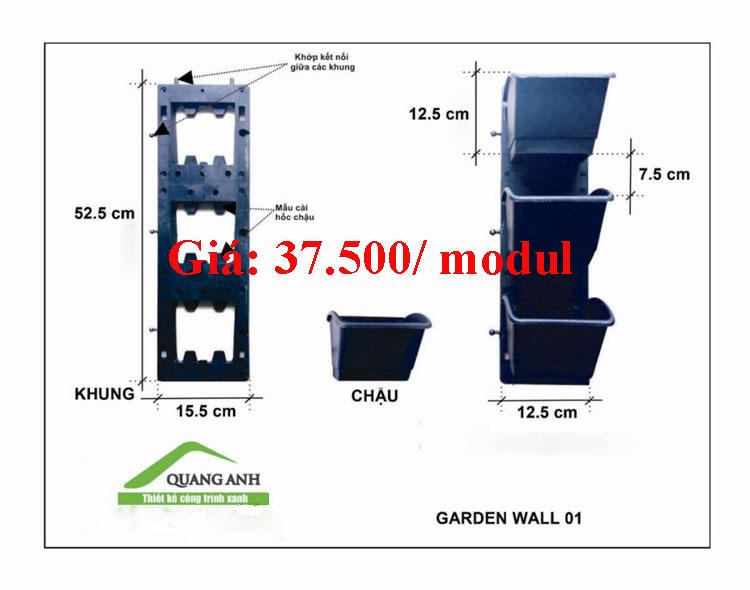 Mô hình modul QA 01 của công ty Quang Anh HCM