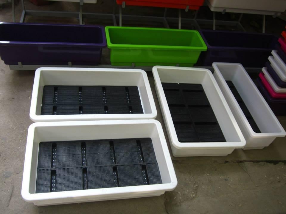 Khay trồng rau Quang Anh HCM được yêu thích vì độ bền cao và giá rẻ.