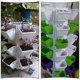 Giàn trồng rau QA-02A36