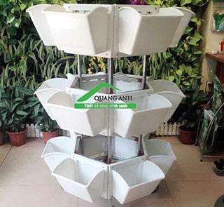 Thiết kế kệ trồng rau sạch 3 tầng