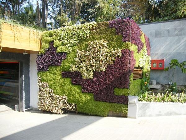 Quang Anh HCM chuyên thi công vườn tường đứng giá rẻ