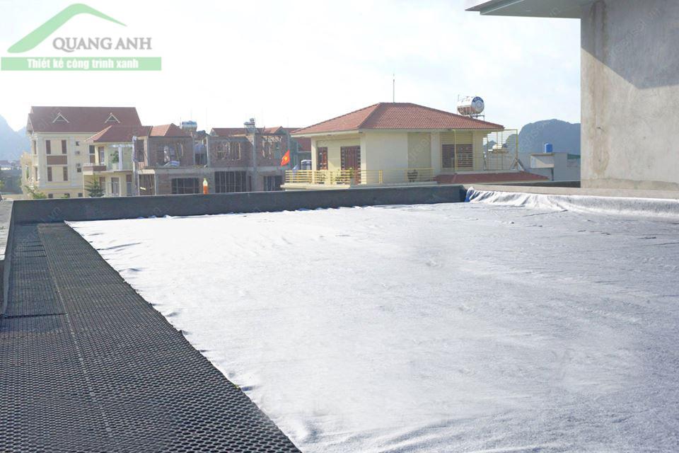 combo vải địa và vỉ thoát nước công ty Quang Anh HCM
