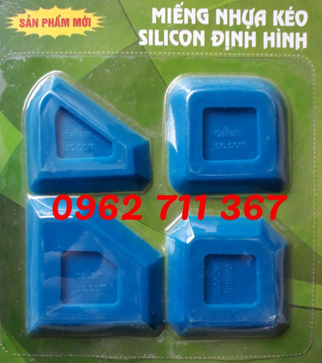 Miết mạch nhựa silicon định hình