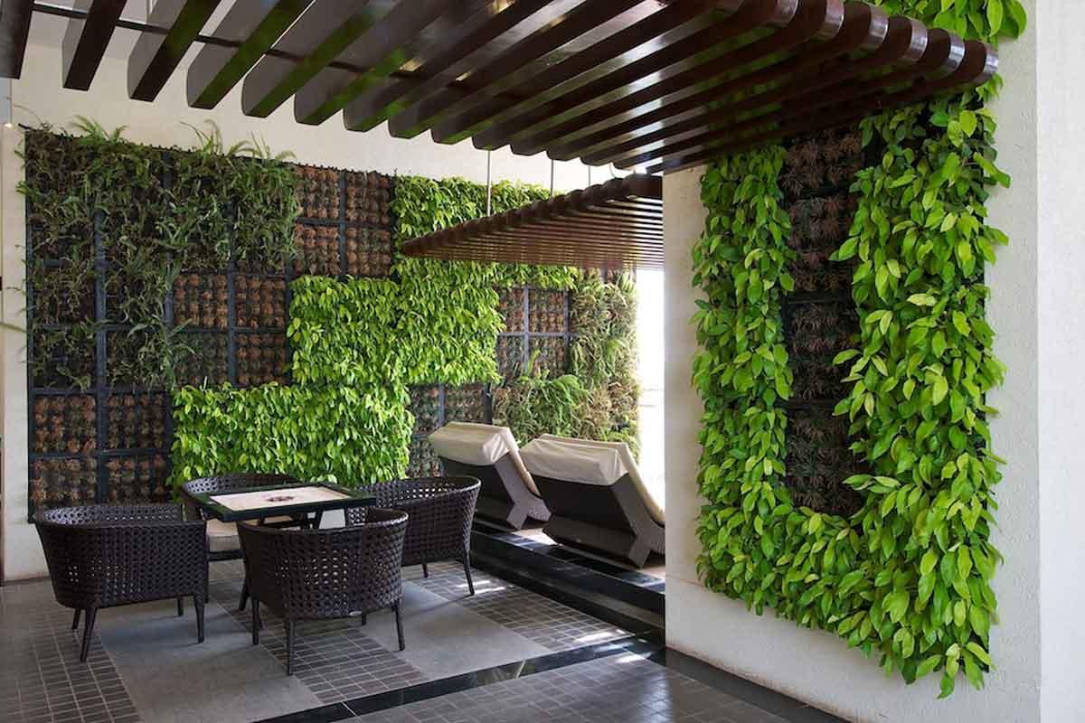 mô hình vườn tường đứng công ty Quang Anh HCM đã thi công