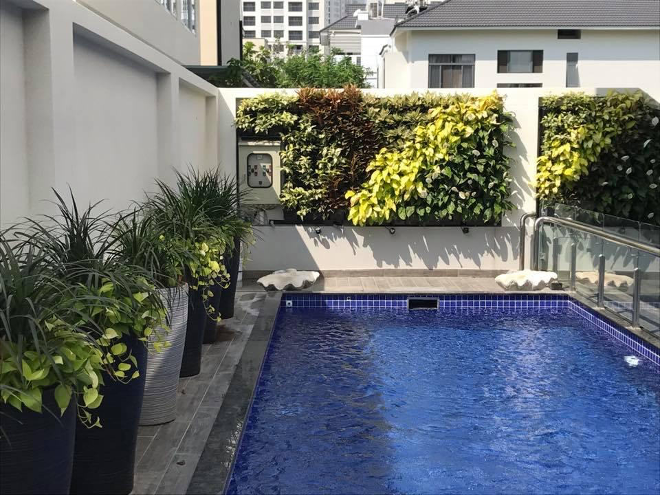 Video modul vườn tường đứng vườn tường xanh Quang Anh