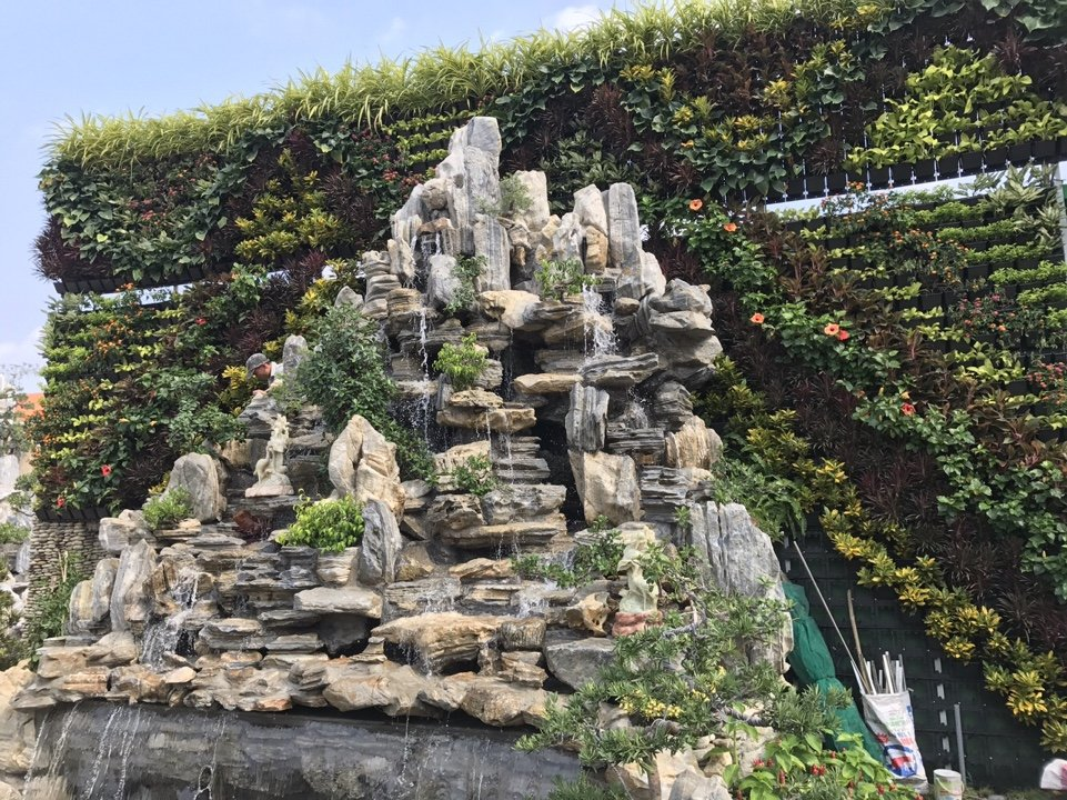 Công ty thiết kế vườn đứng trong nhà đẹp nhất hiện nay-Công ty Quang Anh
