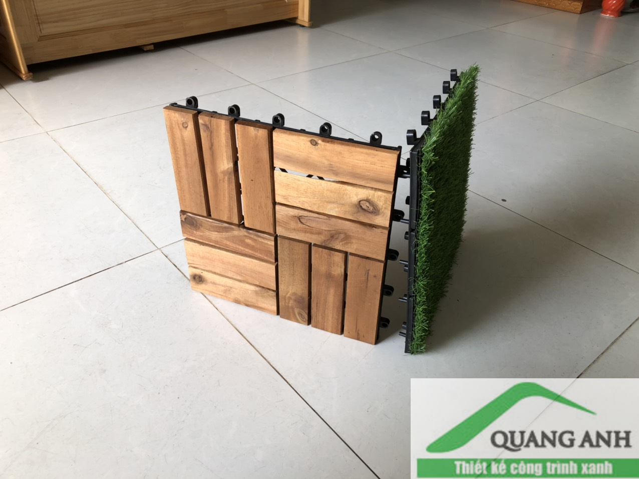 7 lý do khiến khách hàng yêu thích tấm lót sàn gỗ của Quang Anh HCM