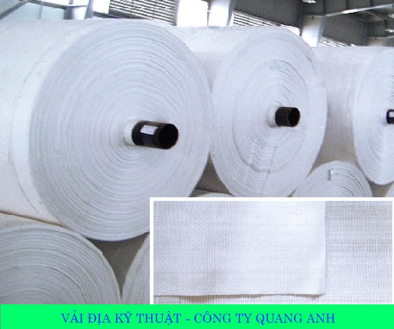 Báo giá vải địa kỹ thuật giá chỉ 18,000 đồng/m2 - Công ty Quang Anh HCM